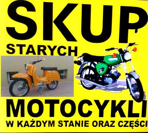 Skup starych motocykli simson duo  s51 motorynka mz osa wsk shl wfm