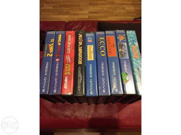 Pack jogos Mega Drive