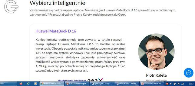 MateBook D16 + router+router