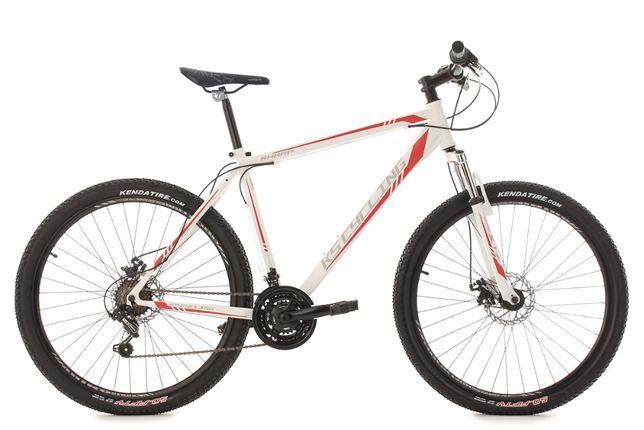 """Rower górski hardtail 27,5 """"Sharp biało-czerwony 21 biegów KS CYCLING"""