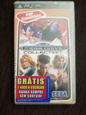 Jogo PSP (NOVO) Mega Drive Collection