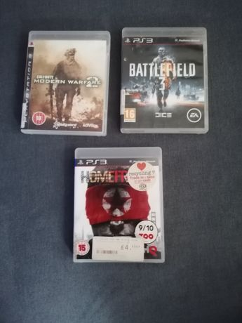 Gry na PS3, Call of Duty Modern Warfare oraz Battlefield 3