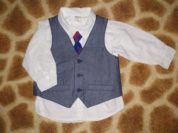 Двойка для маленьких модников от бренда H&M. 9-12 месяцев. Рост 80 см.