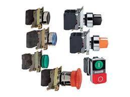 Кнопки, контакты, сигнальные лампы и переключатели Schneider Electric