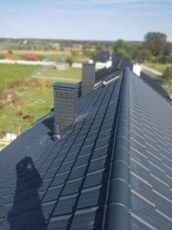 Pokrycia dachowe, więźby dachowe, dachy