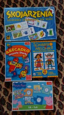 Zestaw gier dla przedszkolakaTrefl