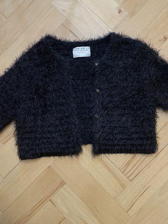 Krotki sweterek dla dziewczynki Zara 122 cm 6-7 lat