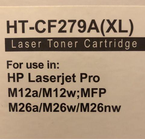 Toner COMPATÍVEL com HP 79A, Preto NOVO