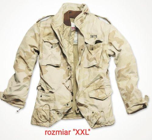 Kurtka wojskowa,Regiment M65 Jacket Surplus-pustynna burza,rozmiar XXL