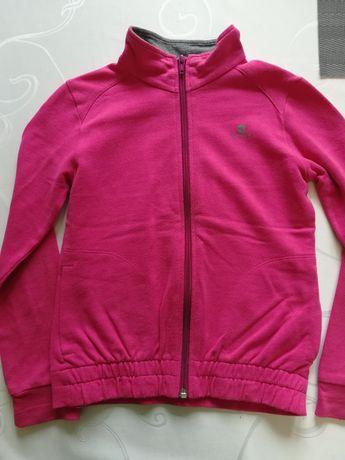 Bluza różowa Decathlon 116/122