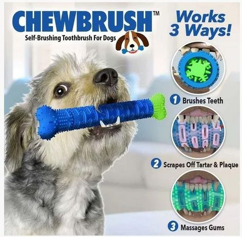Зубная щетка для собак