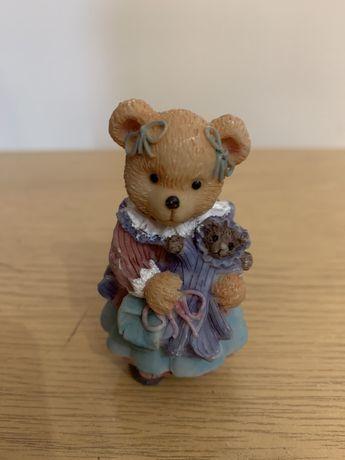 Miś z lalką-figurka kolekcjonerska