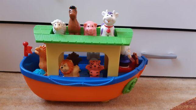 Interaktywna Arka Noego zwierzątka gra Dumel