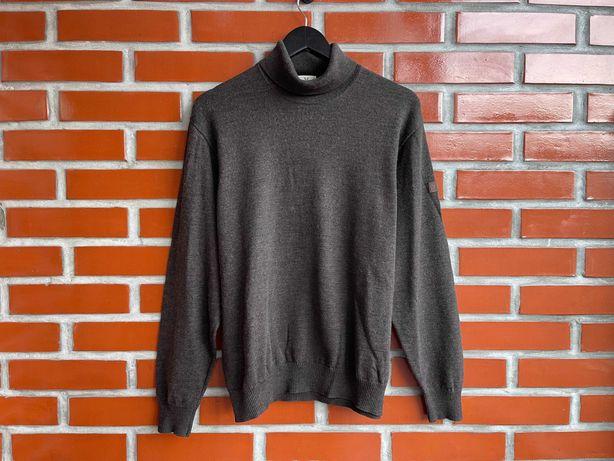 März Merino Wool оригинал мужской свитер гольф размер 52 XL Б у
