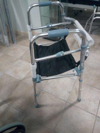 Andarilho de Aluminio com assento