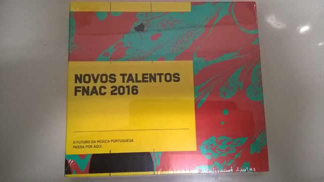 Fnac Novos Talentos 2016 NOVO e Selado (portes incluídos)