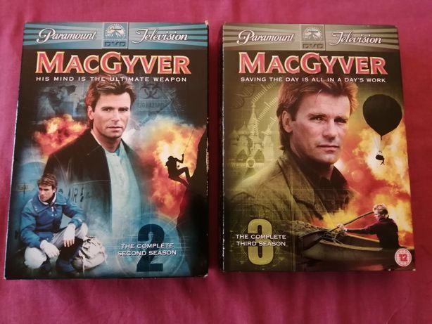 Macgyver seção 2 e 3