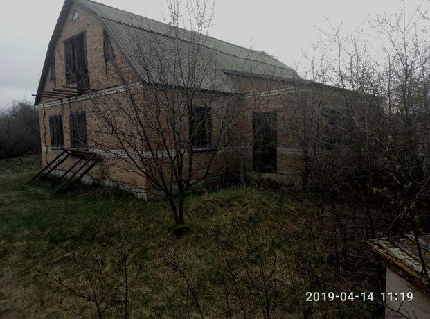 Продам недостроеный дом с. Мачехи Полтавского района