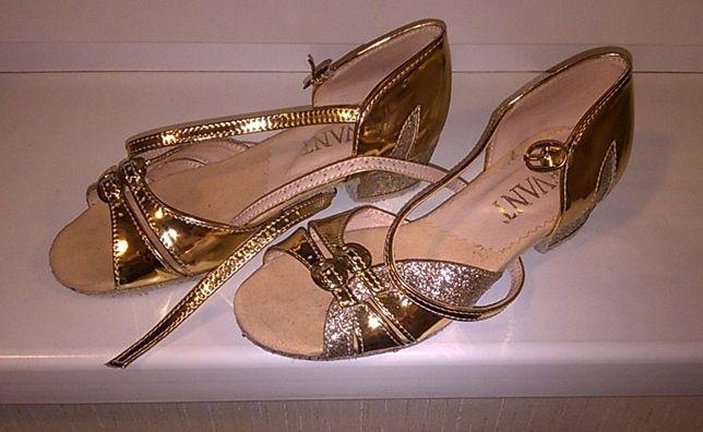 Новые бальные туфли латина (блок каблук) Levant стелька 20.5 см.