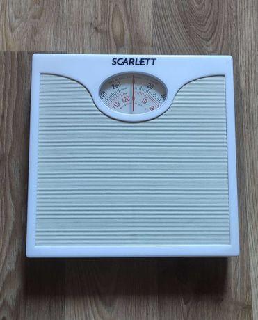 весы напольные механические домашние Scarlett