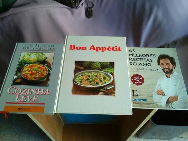 Culinária - três livros