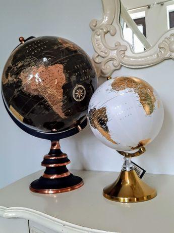 Globus dekoracja złoto czarny prezent święta -DUŻY
