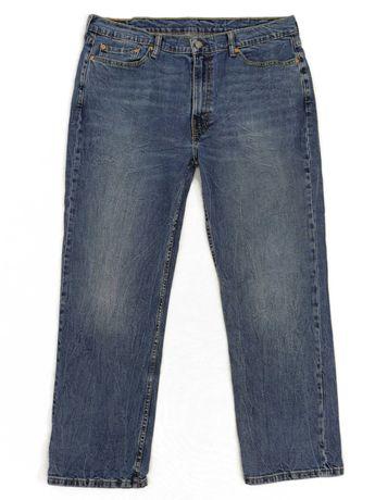 Levis 514 Spodnie Jeansowe jeansy granat W40 L30