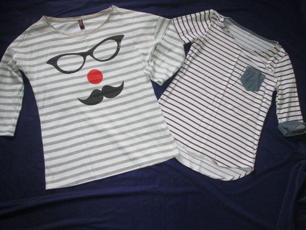 Bluzka bawełniana RESERVED i H&M roz. 152 BDB