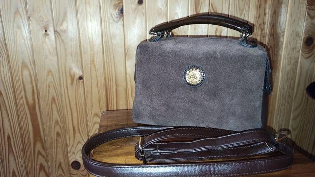 Продаю замшеву жіночу сумочку
