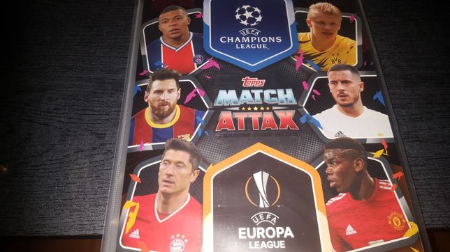 Champions leuge 2021 Komplet + Limited Edition