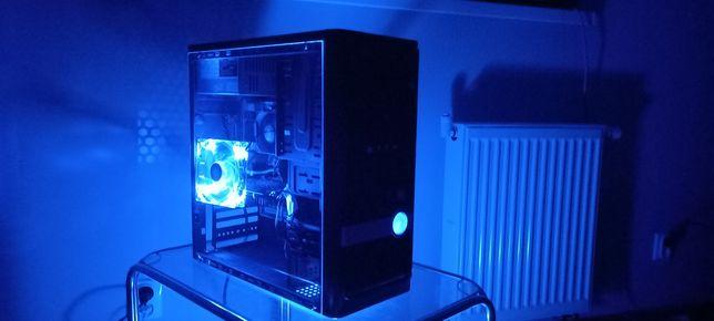 Do Gier QUAD X4/250GB/4GB DDR3/GT240-1GB/LED Blue/XEON