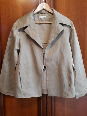Annette Görtz/ Gortz люкс дизайнерский шелковый жакет/ пиджак/ накидка