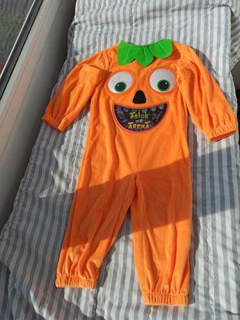 Костюм гарбуз на Хеллоуїн 92см 12 - 24м костюм на хеллоуин