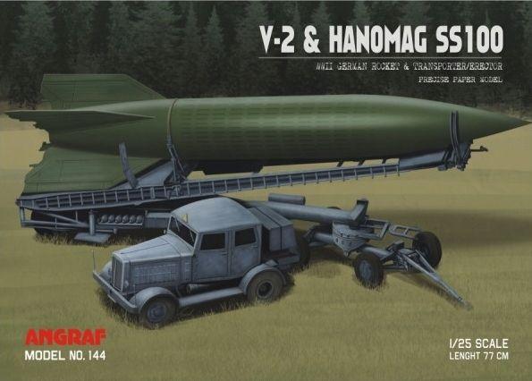 Angraf nr 144 - V-2 & Hanomag SS100 1:25