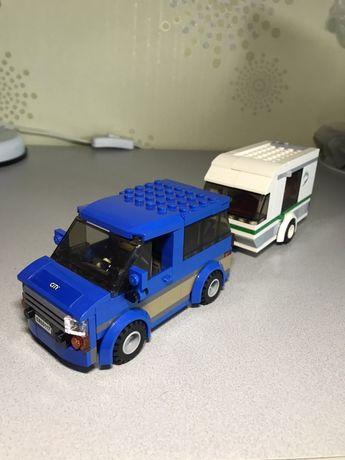 Конструктор Lego Сity Фургон и дом на колесах