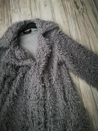 Płaszczyk płaszcz futerko