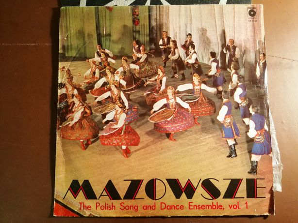 Mazowsze - The Polish Song and Dance Ensemble vol. 1 LP VG++ Muza