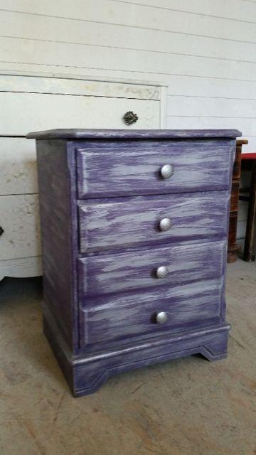 Unikatowa szafka nocna / komoda z szufladami