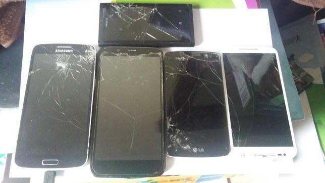 Zestaw Smartfon LG D290n, Samsung SM G7102 5 szt