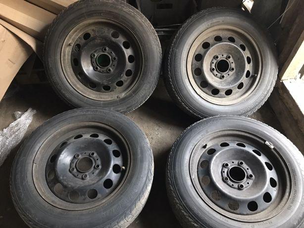Комплект колес r16 65 205 5х120 зима
