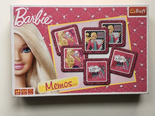 Gra Memory / Memos Barbie firmy Trefl