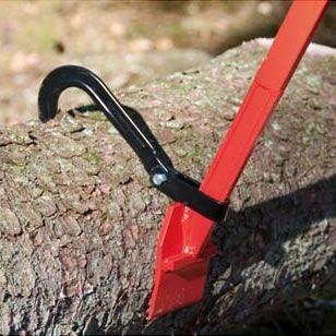 Obracak kłody drewna bali pni