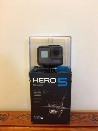 Gopro hero 5 black + samsung evo plus 64GB , masa akcesoriów