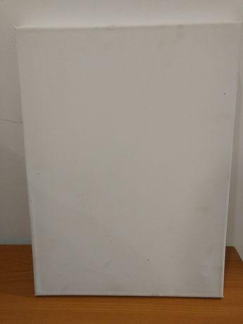 tela branca para pintar 2 unidades 30x40cm novas (troco por livros)