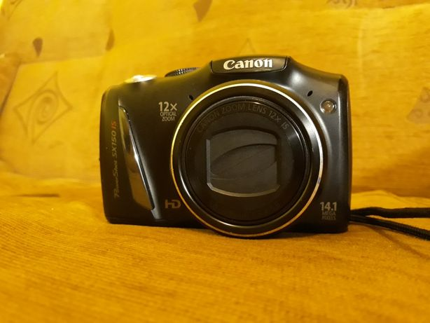 Aparat Canon sx150is 14Mpix
