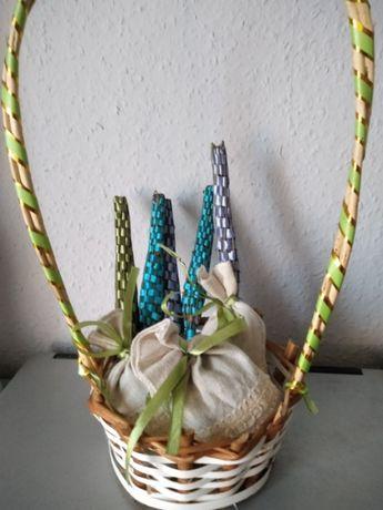 Лаванда саше , палочка-косичка с цветами лаванды.