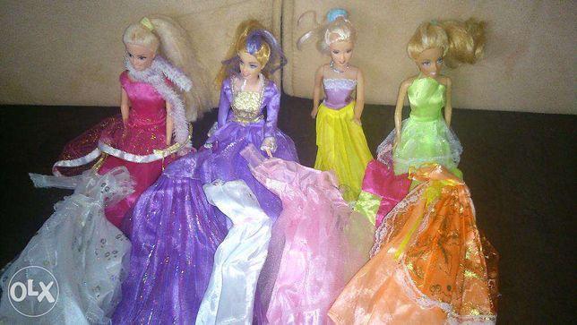 lalki z sukienkami cena za komplet