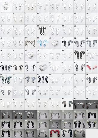 Петухи, Крюки, Серьги (95 моделей) (Cube, Specialized и тд) Крюк/серьг