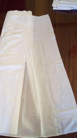 Ткань батист, белая, 3 куска