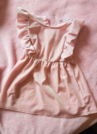 Sukienka dla dziewczynki r.74-80